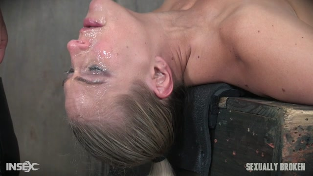 Watch Online Porn – SexuallyBroken presents Angel Allwood in Bound and helpless, Big titted blond is deepthroated, face fucked and made to cum over and over! Part 2 – 10.05.2017 (MP4, HD, 1280×720)