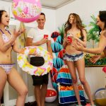 GFLeaks – DareDorm presents Gina Valentina, Elena Koshka, Emily Cash in Slutty Spring Breakers – 19.05.2017