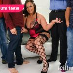 Killergram presents Samantha Stockings in take on the cum team – 19.05.2017