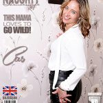 Mature.nl presents Cass (EU) (45) in British housewife Cass loves fingering herself – 30.06.2017