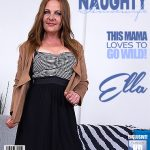 Mature.nl presents Ella (42) in naughty housewife playing with herself – 26.06.2017