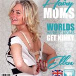 Mature.nl presents Ellen B. (EU) (47) in British hairy housewife fooling around – 12.06.2017