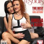 Mature.nl presents Emelia (52), Naomi (19) in Horny old and young lesbian couple fooling around – 29.06.2017