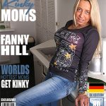 Mature.nl presents Fanny Hill (EU) (47) in German mom playing with fruit – 19.06.2017
