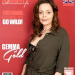 Mature.nl presents Gemma Gold (EU) (42) in British hot housewife fooling around – 01.06.2017