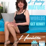 Mature.nl presents Harrietta (55) in hairy older lady Harrietta doing her toyboy – 20.06.2017