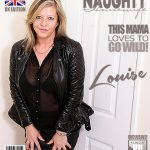 Mature.nl presents Louise (EU) (51) in British housewife playing in bed – 23.06.2017