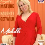 Mature.nl presents Michelle (EU) (45) in British housewife fingering herself – 05.06.2017