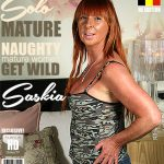 Mature.nl presents Saskia M. (55) in Belgian housewife fooling around – 01.06.2017