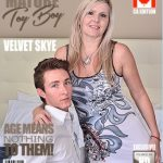 Mature.nl presents Velvet Skye (55) in Canadian housewife doing her toyboy – 02.06.2017