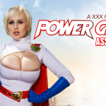 VRcosplayx presents Angel Wicky in POWERGIRL ASSEMBLY A XXX PARODY – 09.06.2017