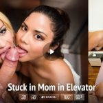 Virtualtaboo presents Sienna Day & Nikole in Stuck in Mom in Elevator – 07.06.2017