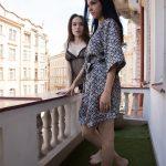 SexyHub – Lesbea presents Angel Rush & Foxxi Black in Glamorous Euro Lesbians in Lingerie – 25.06.2017