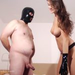 BallbustingChicks presents Angela Diablo in Jerk After Hard Ball Kicks