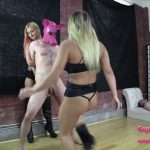 Brat Princess 2 presents Amadahy, Cali in Enthusiastic Cali Learns to Ballbust