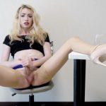 Sasha de Sade presents Sex School, Lesson 1, Jerk-off Instruction