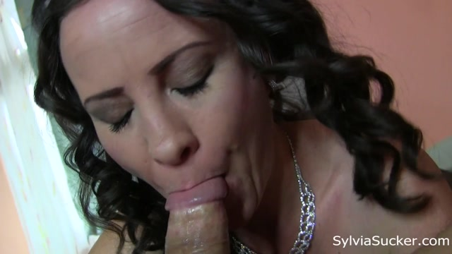 Watch Online Porn – SylviaSucker presents Sylvia Chrystall in Drooling Sloppy Ravenous Blowjob and Hand Job (MP4, FullHD, 1920×1080)