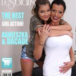 Mature.nl presents Agnieszka (20), DaCada (42) in 2 old and young lesbians playing with eachother – 21.07.2017