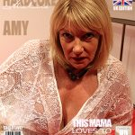 Mature.nl presents Amy (EU) (54) in British housewife Amy fucking and sucking – 11.07.2017