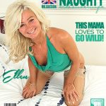 Mature.nl presents Ellen B. (EU) (47) in British housewife fingering herself – 21.07.2017