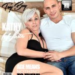 Mature.nl presents Kathy White (42) in horny housewife doing her toyboy – 24.07.2017