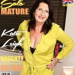 Mature.nl presents Katie Leigh (EU) (52) in British older lady fooling around – 17.07.2017