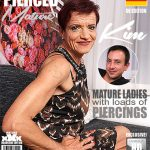 Mature.nl presents Kim O. (53) in German Pierced older lady doing her toyboy – 21.07.2017