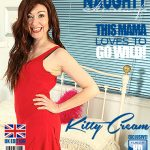 Mature.nl presents Kitty Cream (EU) (45) in British housewife fooling around – 14.07.2017