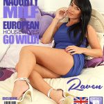 Mature.nl presents Raven (EU) (35) in British MILF playing with herself – 11.07.2017