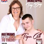 Mature.nl presents Tiger Cub (EU) (48) in British chubby mature lady doing her toyboy – 20.07.2017