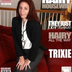Mature.nl presents Trixie M. (33) in American hairy housewife fooling around – 03.07.2017