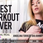 Virtualrealtrans presents Angelina Torres & Big Johnny in Best Workout Ever