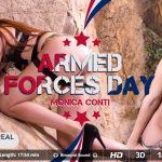 Virtualrealtrans presents Monica Conti in Armed Forces Day