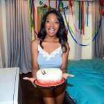 GFLeaks – BlackGFs presents Daya Knight in Busty Birthday Surprise – 12.07.2017