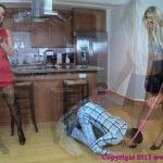 Brat Princess presents Chloe, Mariah in Abuse a Scrawny Nerd