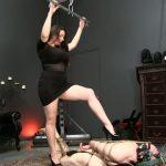 Goddess Alexandra Snow in Extreme Hogtie