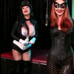 Mesmerized by Catwoman and Zatanna