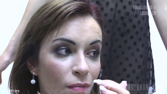 Watch Online Porn – PremiumBukkake presents Silvana #5 – Best Scenes (MP4, FullHD, 1920×1080)
