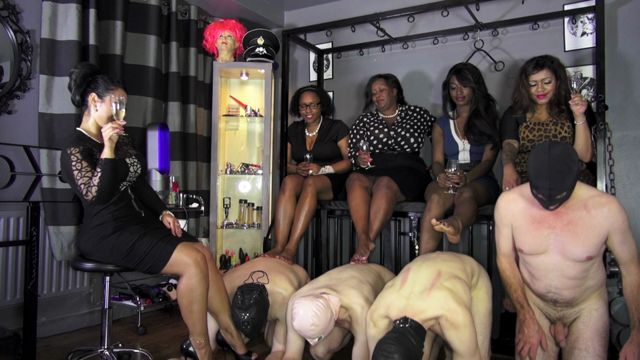 Watch Online Porn – UK Black-Mistress – Mistress Liberty Domme, Lady Andromeda, Miss Foxx, Lady Ezada Sinn, Madame Caramel – Footfetish Goddesses (MP4, HD, 1280×720)