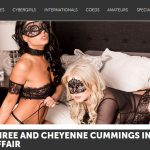 PlayboyPlus presents Barbara Desiree, Cheyenne Cummings in Masquerade Affair – 19.07.2017