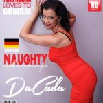 Mature.nl presents DaCada (42) in hot housewife fingering herself – 08.08.2017