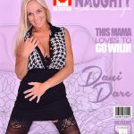 Mature.nl presents Dani Dare (49) in Canadian housewife fingering herself – 01.08.2017