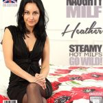 Mature.nl presents Heather (EU) (31) in Steamy hot British MILF loves fooling around – 14.08.2017
