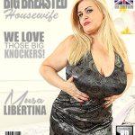 Mature.nl presents Musa Libertina (EU) (52) in British big breasted housewife fingering herself – 18.08.2017
