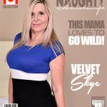 Mature.nl presents Velvet Skye (55) in Canadian housewife fooling around – 15.08.2017