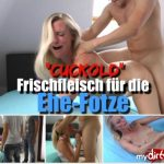 MyDirtyHobby presents Dirty-Tina in Cuckold – Frischfleisch fur die Ehe-Fotze – Cuckold – Fresh meat for the marriage cunt