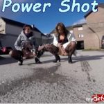 MyDirtyHobby presents Double Trouble in Power Shot
