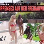 MyDirtyHobby presents Lucy-Cat in Gruppensex auf der Freibadwiese – Public Hardcore