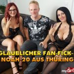 MyDirtyHobby presents QueenParis in Unglaublicher Fan-Fick-3er mit Noah 20 aus Thuringen – Incredible Fan Fuck-3 with Noah 20 from Thuringia!