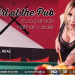 Virtualrealtrans presents Eva Paradis & Nathan Raider in The girl at the pub – 12.08.2017